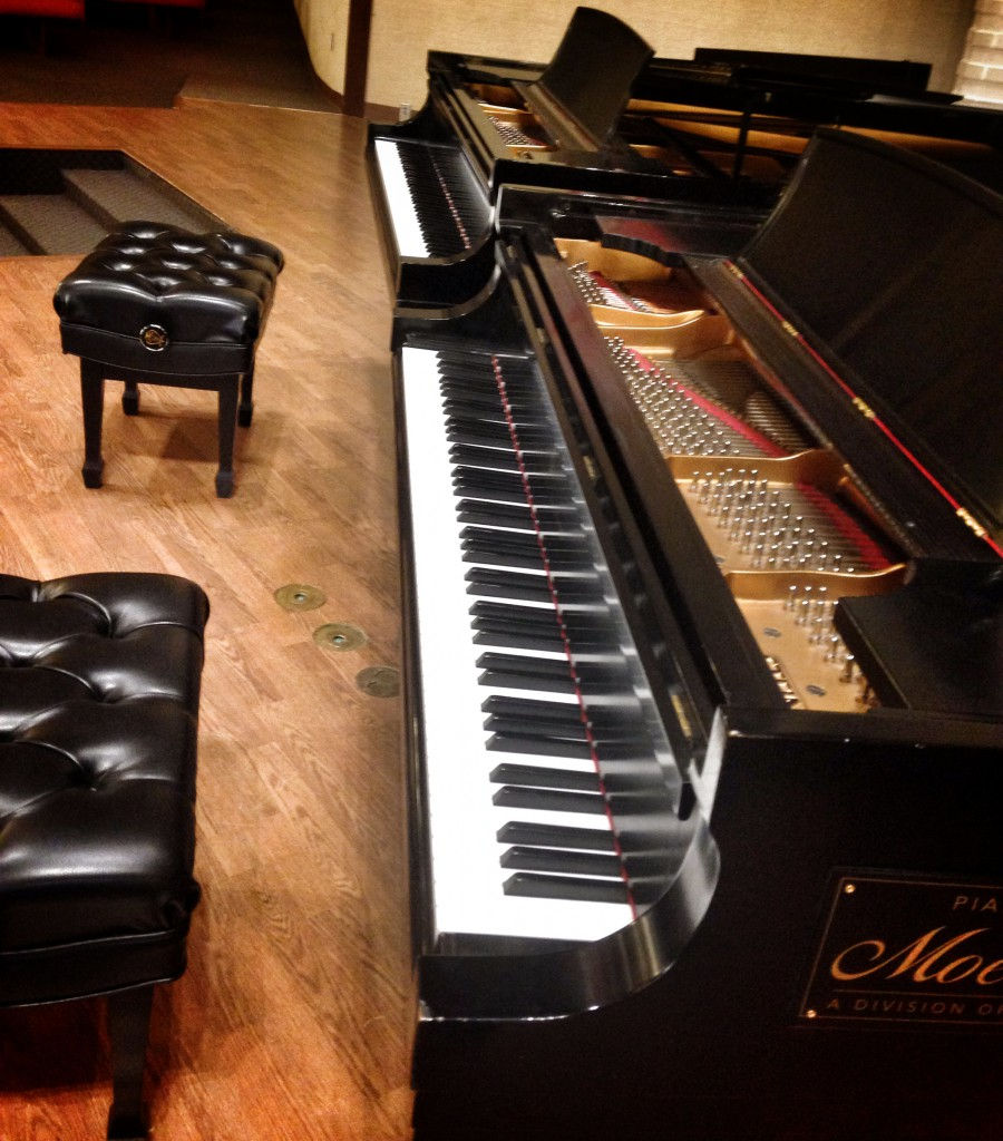 "Two 6' 10 1/2"", 760lb Steinway B Grand Pianos"