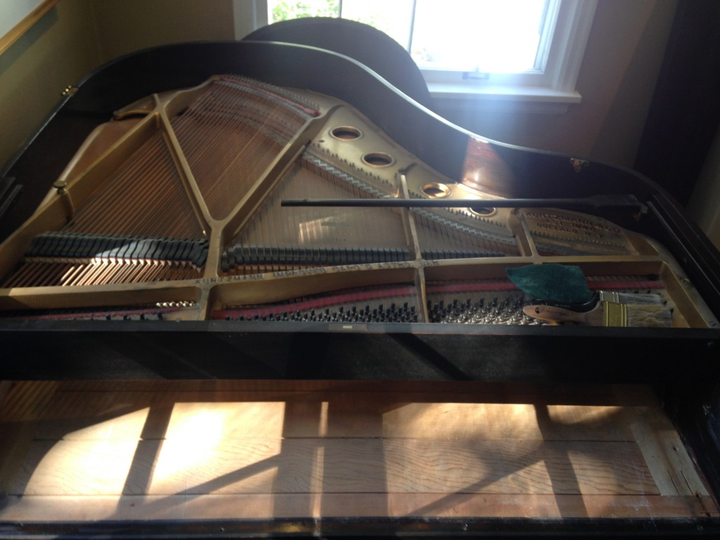 piano before