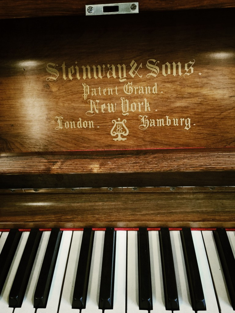 Steinway upright name