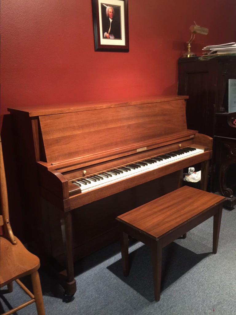 completed piano